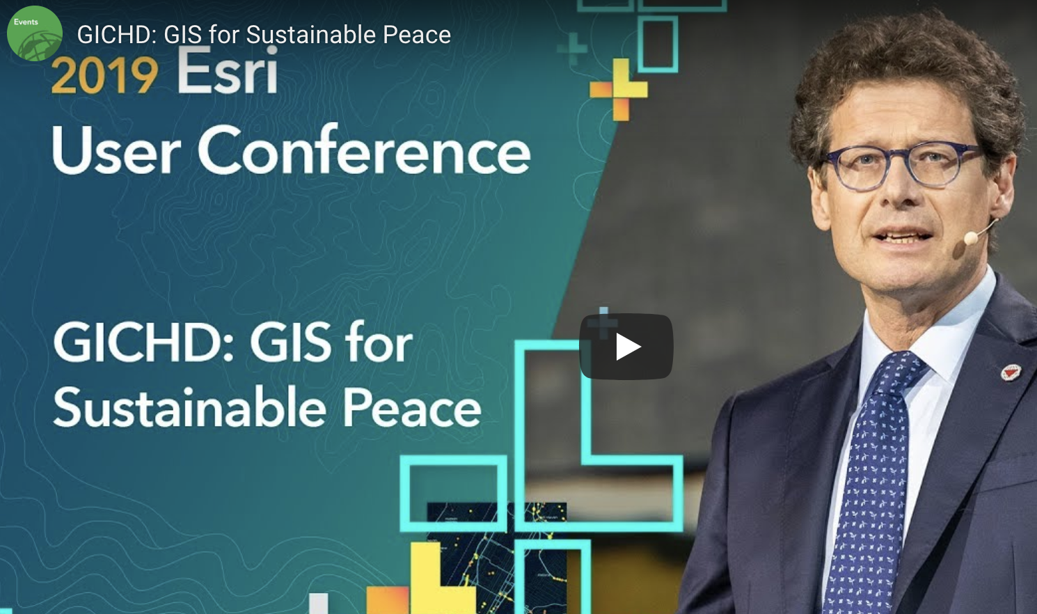 GIS for sustainable peace